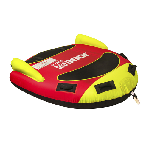 scout 2 personnes funtube rouge jaune