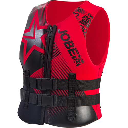 Jobe Progress gilet néoprène enfant rouge