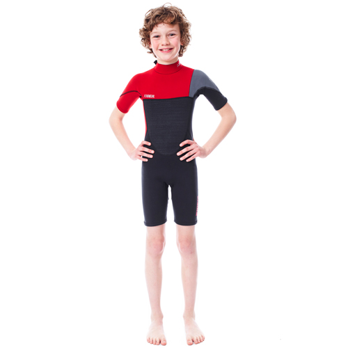Jobe Boston shorty 3/2 enfant rouge