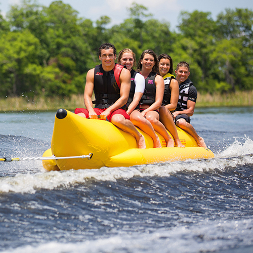 Jobe banane gonflable Watersled 5 personnes