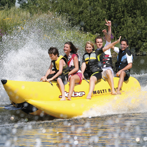 Jobe banane gonflable Heavy Duty Multi Rider 6 personnes funtube