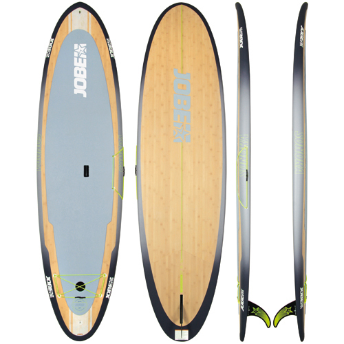 bamboo sup paddle rigide yoga 10 6 sonora